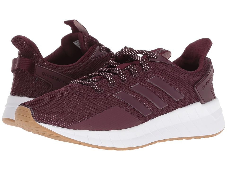 adidas Running Questar Ride (Maroon/Maroon/Gum 4) Women's Running Shoes