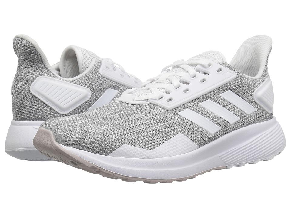 adidas Running Duramo 9 (Ice Purple/White/Light Granite) Women's Shoes