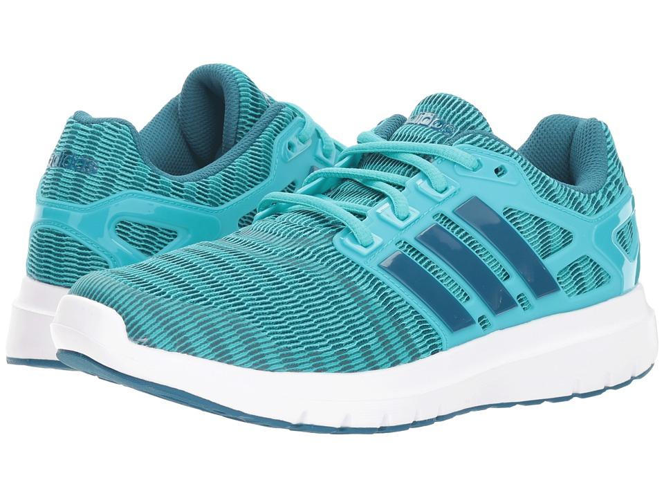adidas Running Energy Cloud V (Hi-Res Aqua/Real Teal/White) Women's Running Shoes