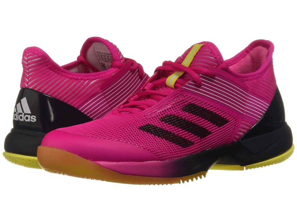 adidas adizero Ubersonic 3 (Shock Pink/Legend Ink/White) Women's Tennis Shoes