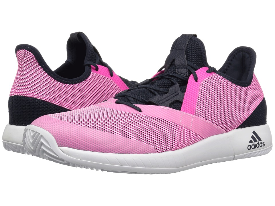 adidas adizero Defiant Bounce (Legend Ink/Shock Pink/White) Women's Tennis Shoes