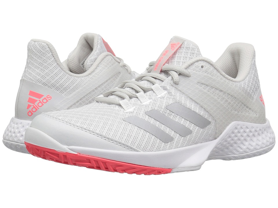 adidas Adizero Club 2 (White/Matte Silver/Grey 1) Women's Shoes