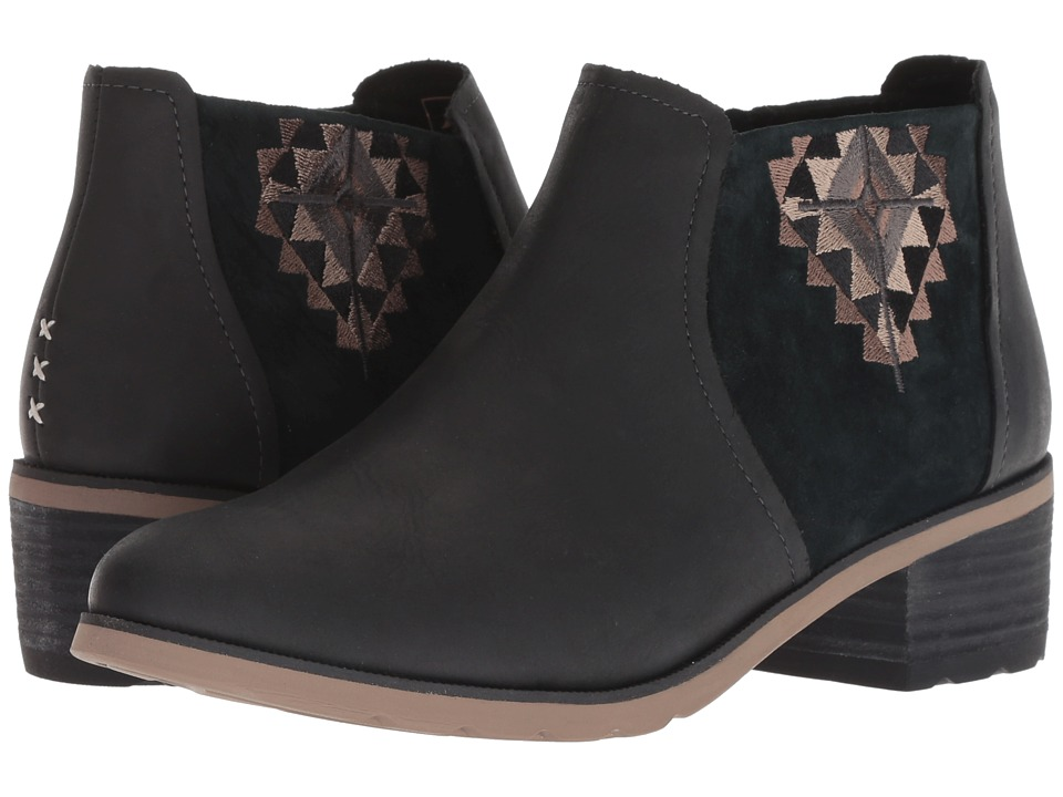 Reef Voyage Boot Low LX (Black/Black)