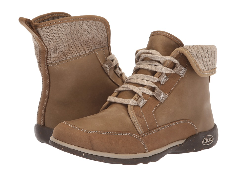 Chaco Barbary (Mink) Women's Lace-up Boots