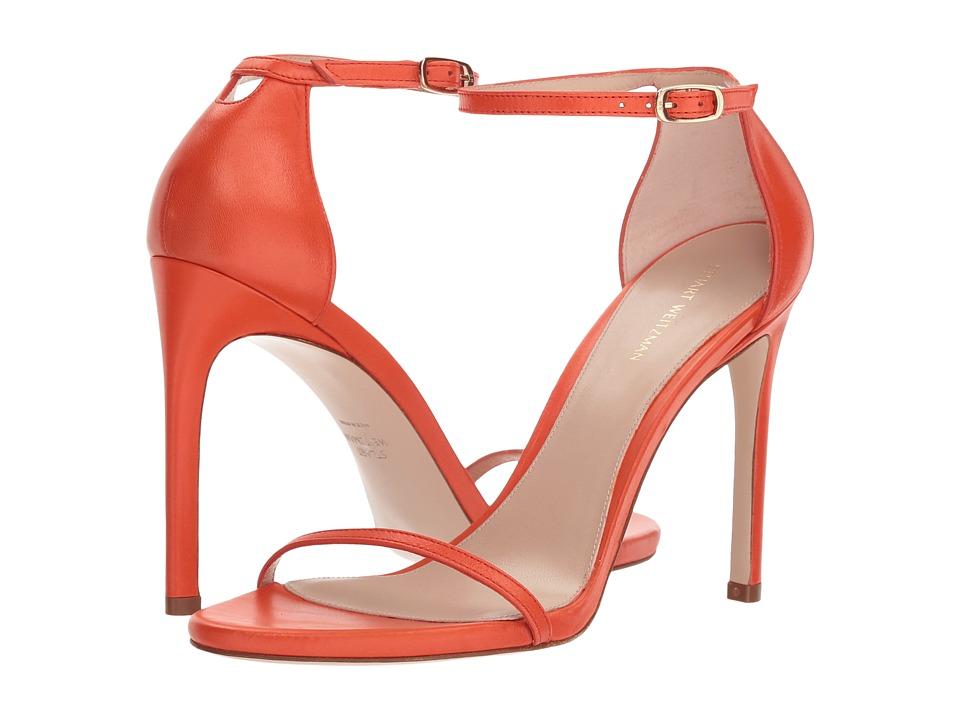 Stuart Weitzman 105nudisttraditional (Paprika Tripoli) Women's Shoes