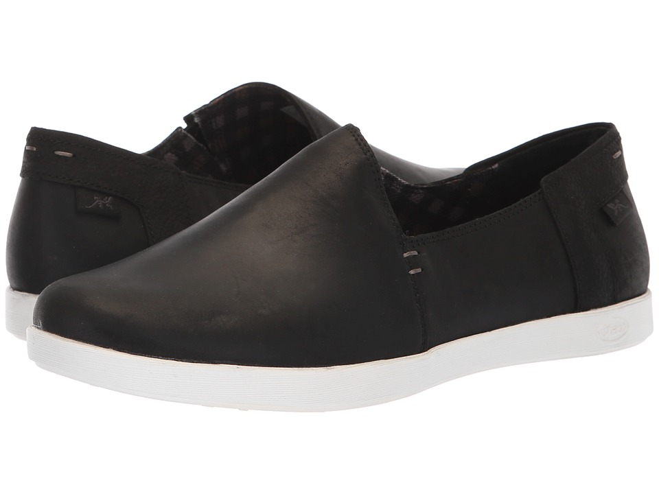 Chaco Ionia Leather (Black) Women's Shoes