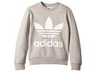 adidas Originals Kids Trefoil Crew Sweatshirt (Little Kids/Big Kids)