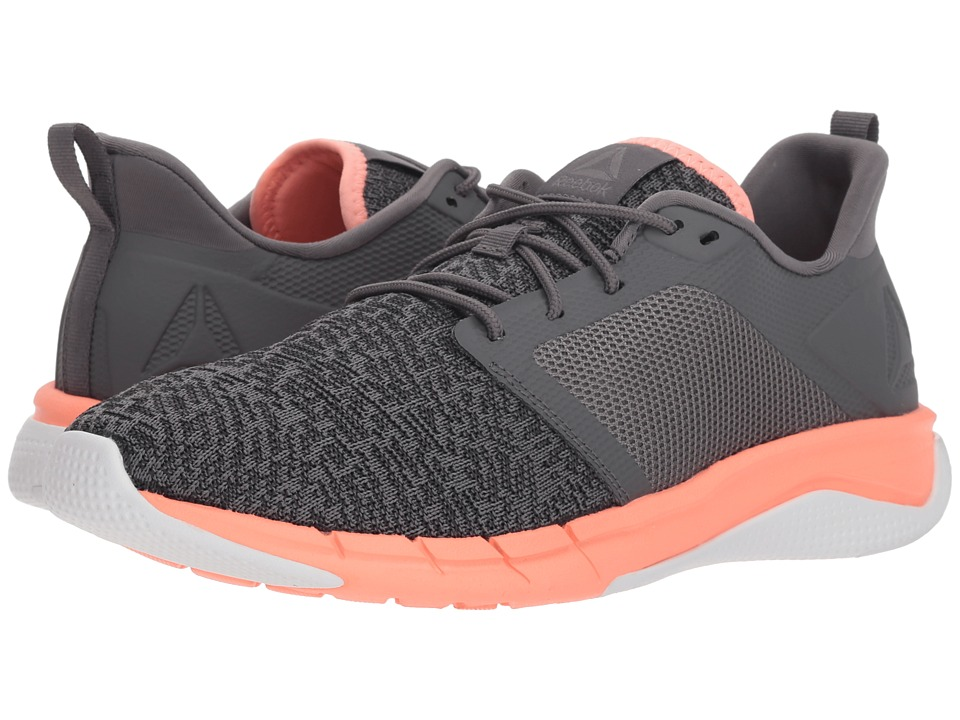 Reebok Print Run 3.0 (Shark/Ash Grey/Digital Pink/White) Women's Running Shoes