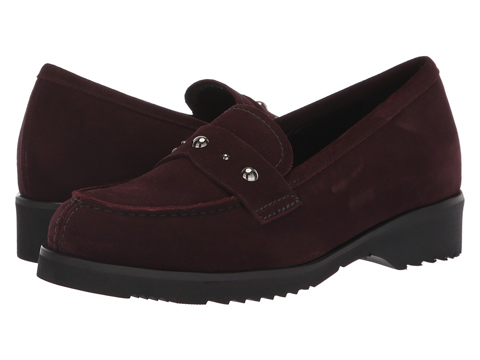 La Canadienne Hatty (Bordeaux Suede) Women's Shoes