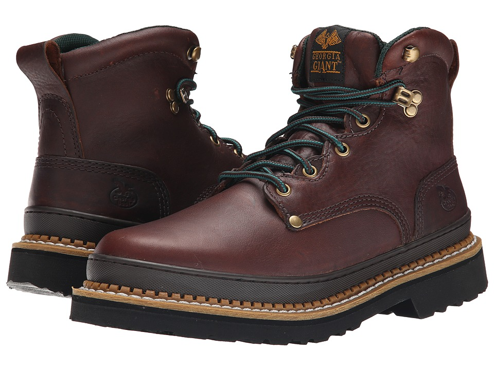 Georgia Boot - 6 Georgia Giant Boot (Brown) Mens Work Boots