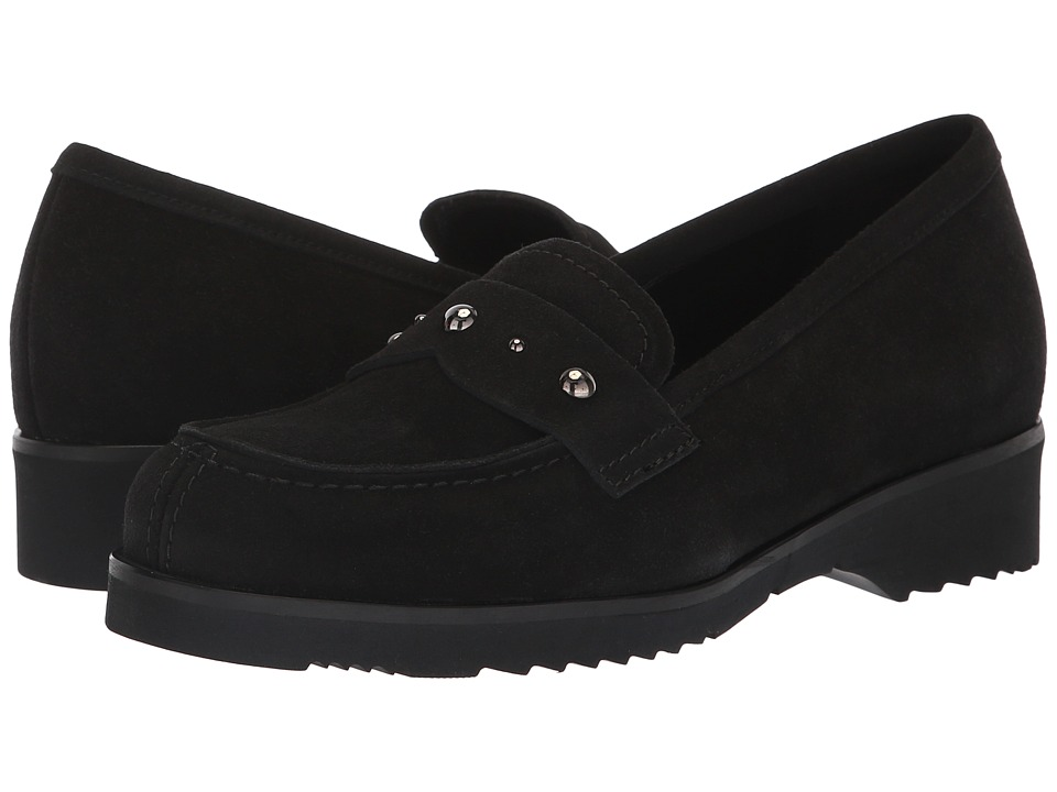 La Canadienne Hatty (Black Suede) Women's Shoes