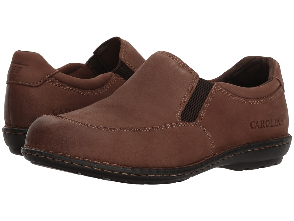 Carolina ESD Aluminum Toe Opanka Slip-On CA3681 (Maseru Coffee Leather Upper) Women's Shoes