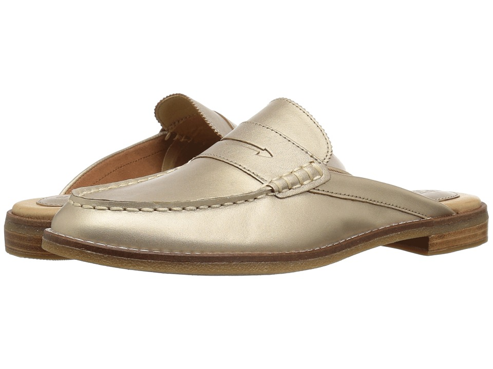 Sperry Seaport Fina Mule (Champagne) Women's Clog/Mule Shoes