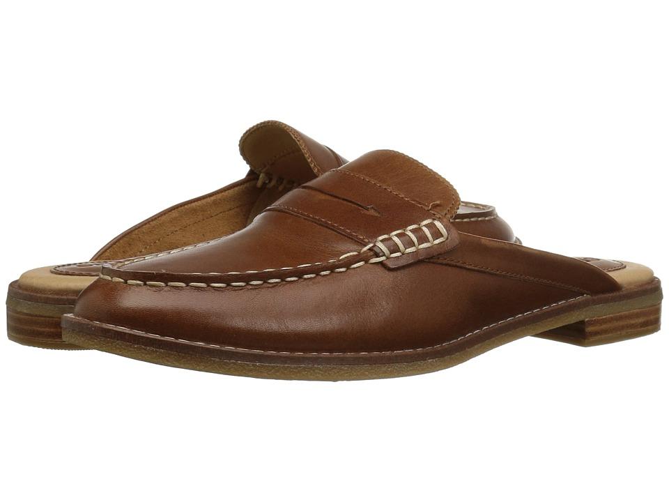 Sperry Seaport Fina Mule (Tan) Women's Clog/Mule Shoes