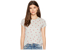 Lucky Brand All Over Hearts Tee
