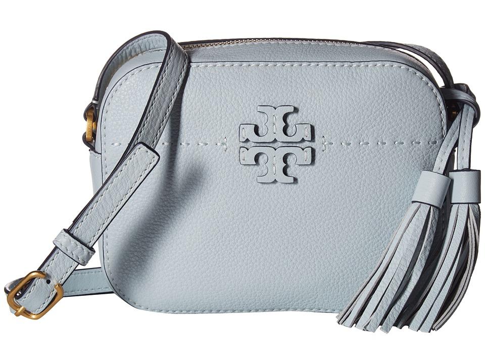 Tory Burch Mcgraw Camera Bag (Seltzer) Handbags