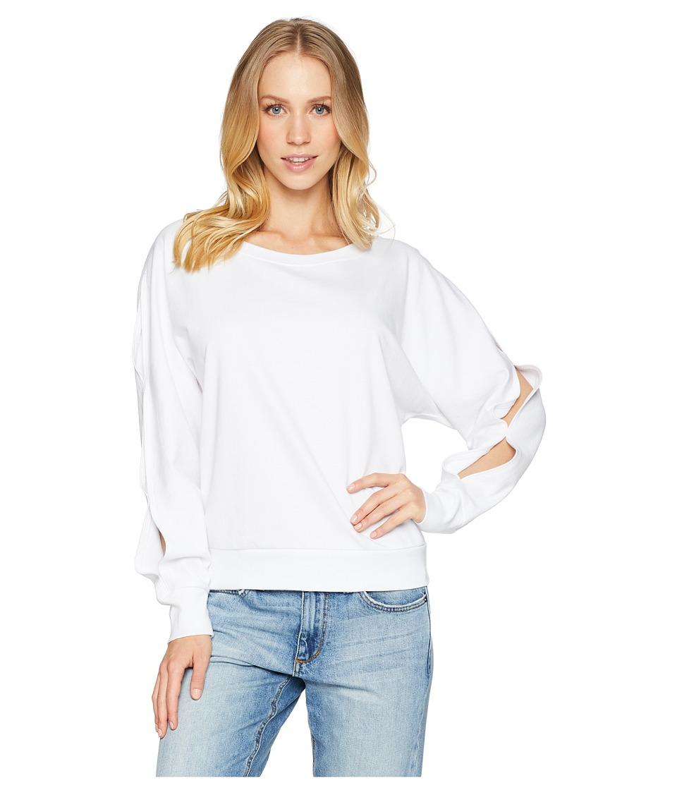 Sanctuary Chill Out Sweatshirt (White) Women
