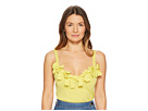 Boutique Moschino Boutique Moschino Stretch Viscose Sleeveless Blouse with Bow Applications