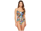 Moschino Patch Theme Swimsuit
