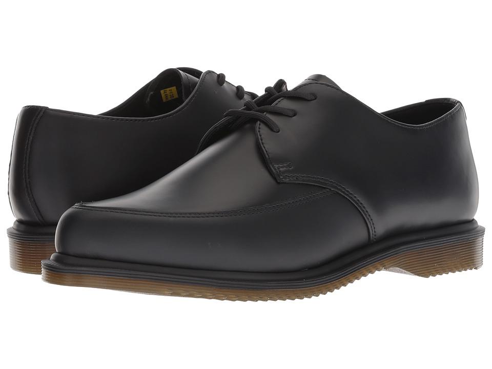 1950s Mens Shoes: Saddle Shoes, Boots, Greaser, Rockabilly Dr. Martens Willis Creeper Black Smooth Shoes $130.00 AT vintagedancer.com