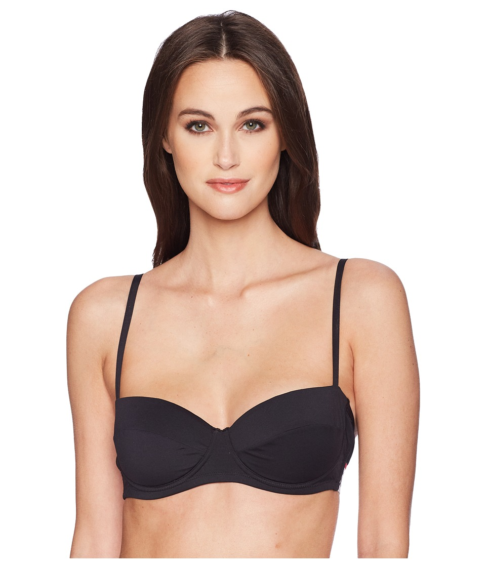 Moschino - Basic Microfiber Bra (Black) Womens Bra