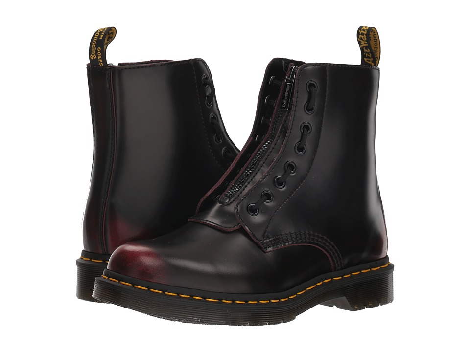 Dr. Martens 1460 Pascal Front Zip (Cherry Red Arcadia)