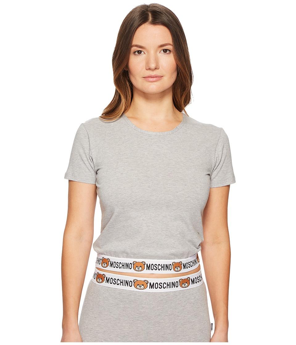 Moschino - Underbear T-Shirt (Gray Melange) Womens Pajama