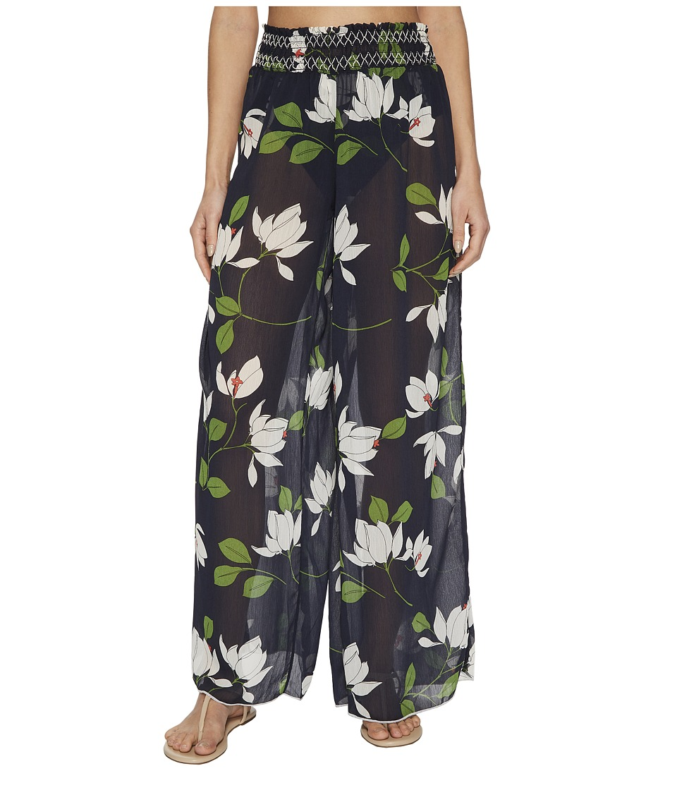 Robin Piccone Elisa Sheer Wide Leg Pant Cover-Up 180748-414