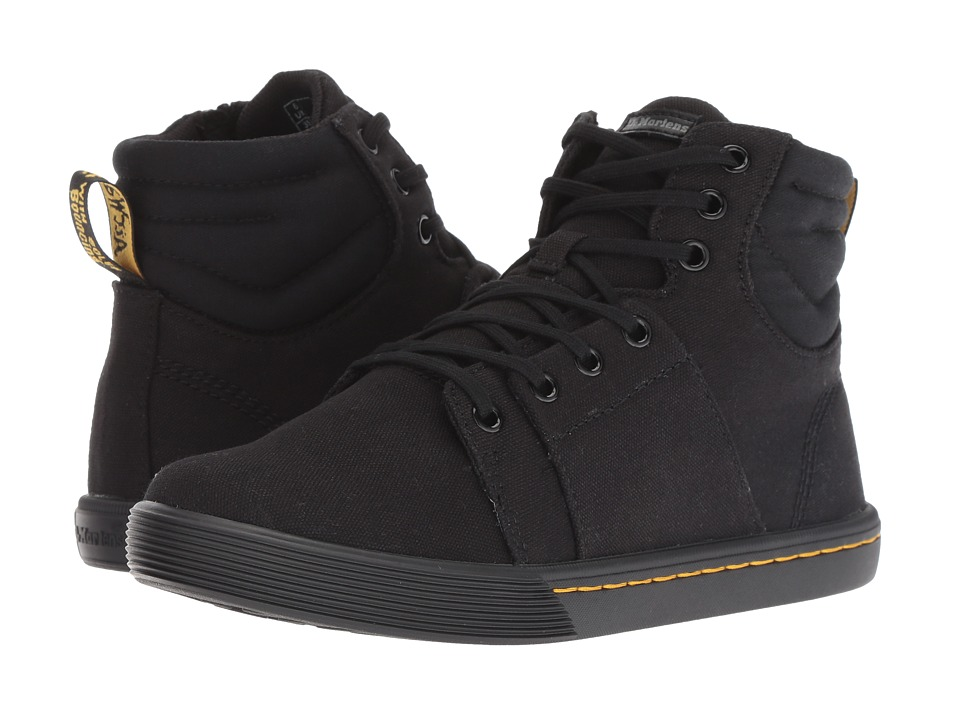 Dr. Martens Rozarya Octavo (Black Canvas/Black Fine Canvas)