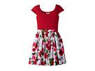 fiveloaves twofish Maddy Roses Dress (Little Kids/Big Kids)