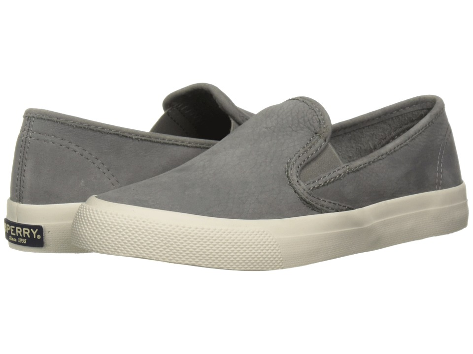 Sperry Seaside Washable (Grey) Slip-On Shoes
