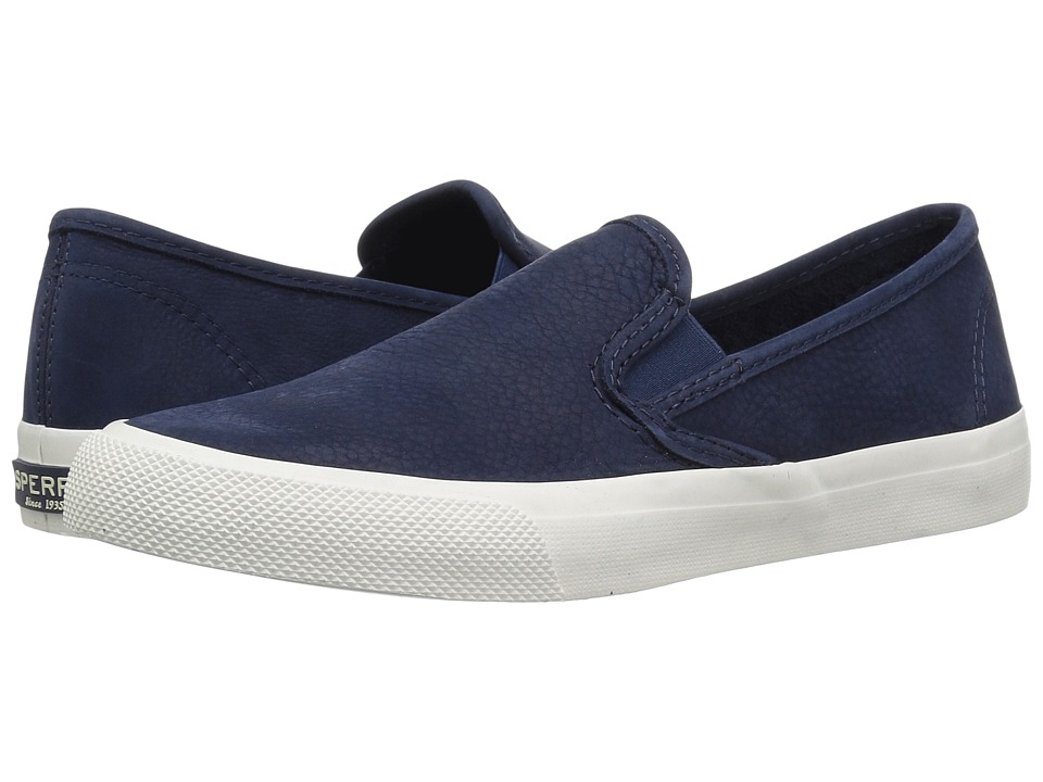 Sperry Seaside Washable (Navy) Slip-On Shoes