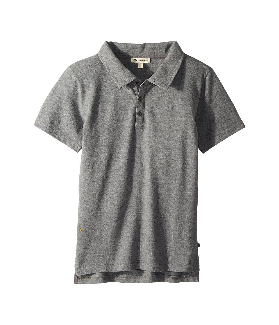 Appaman Kids - Fairbanks Polo Shirt (Toddler/Little Kids/Big Kids) (Dark Grey) Boys T Shirt