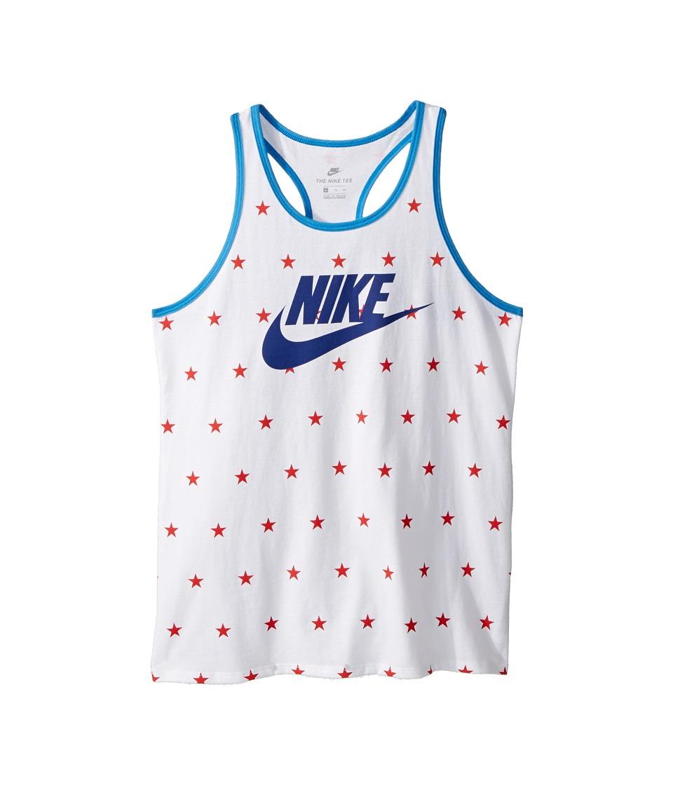 Nike Kids - World Cup Stars Tank Top (Little Kids/Big Kids) (White) Girls Sleeveless