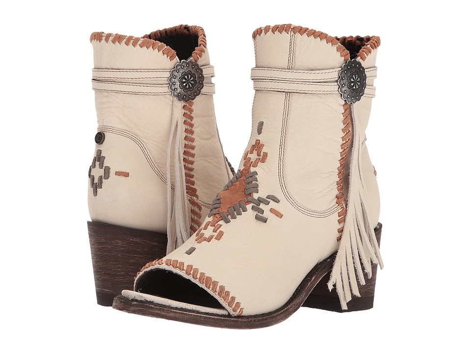 Double D Ranchwear by Old Gringo Tuskegee (Bone/Grey) Cowboy Boots