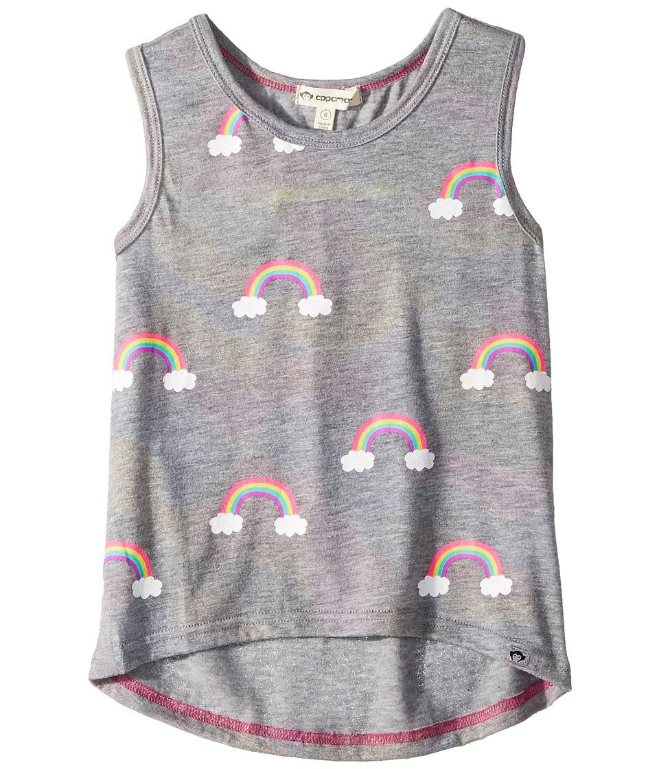 Appaman Kids - Shimmer Rainbow Tank Top (Toddler/Little Kids/Big Kids) (Grey Shimmer) Girls Sleeveless