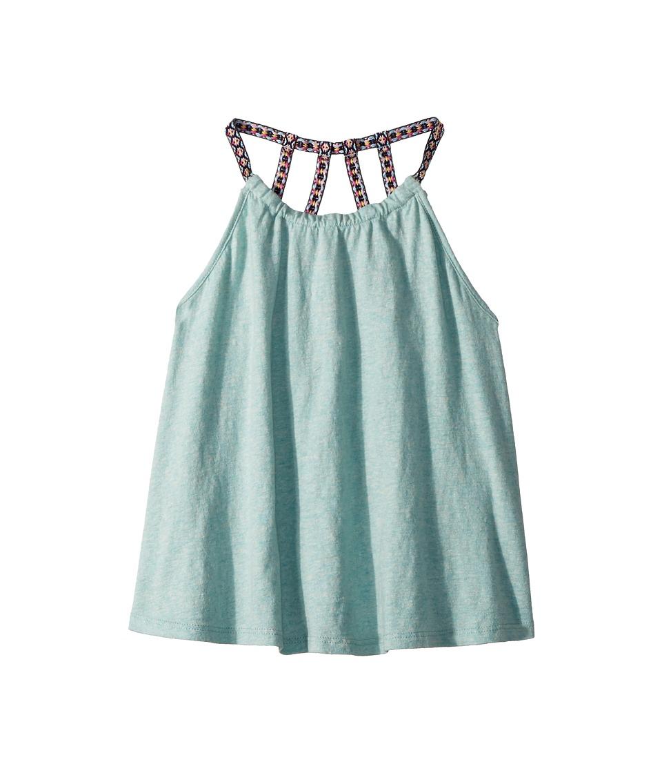 Appaman Kids - Metallic Shimmer Sanibel Tank Top (Toddler/Little Kids/Big Kids) (Shimmer Tide) Girls Sleeveless