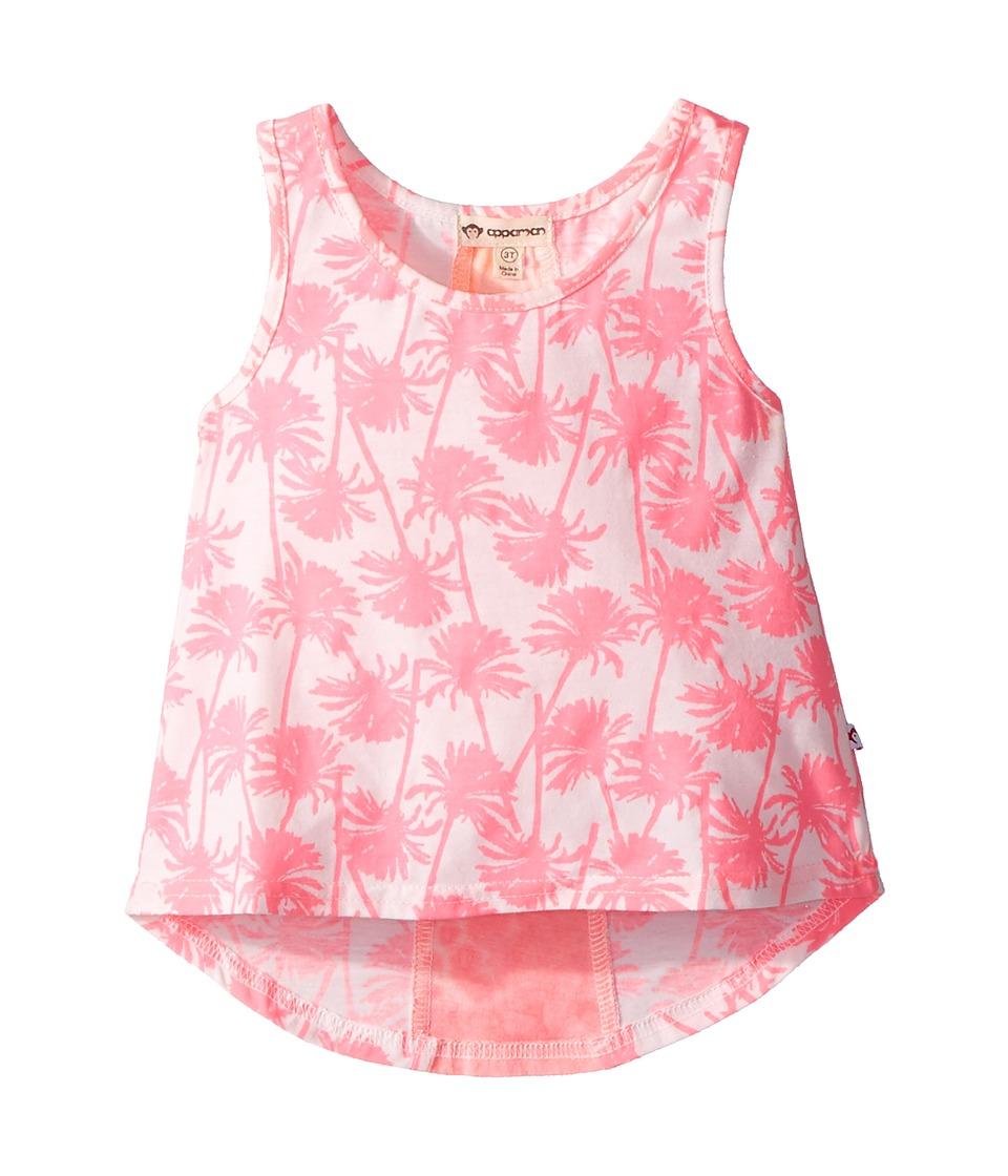 Appaman Kids - Hot Palms Topanga Tank Top (Toddler/Little Kids/Big Kids) (Hot Palms) Girls Sleeveless