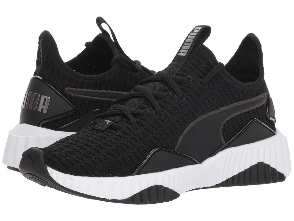 PUMA Defy (Puma Black/Puma White) Women's Shoes
