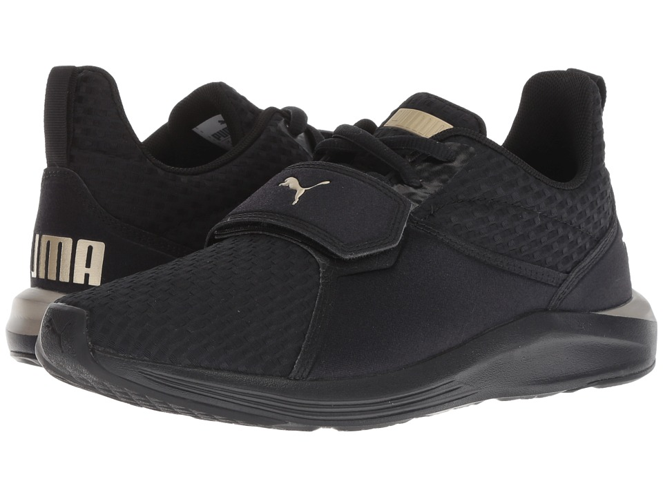 PUMA Prodigy VT (Puma Black/Metallic Gold) Women's Shoes