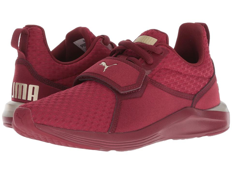 PUMA Prodigy VT (Pomegranate/Metallic Gold) Women's Shoes