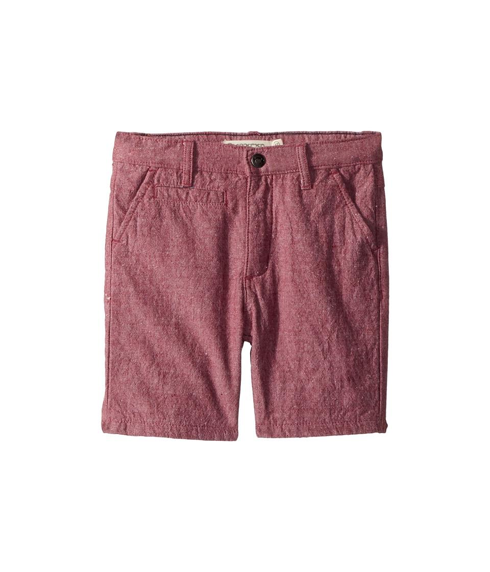 Appaman Kids - Soft Multi Pocket Coastal Shorts (Toddler/Little Kids/Big Kids) (Dark Red) Boys Shorts