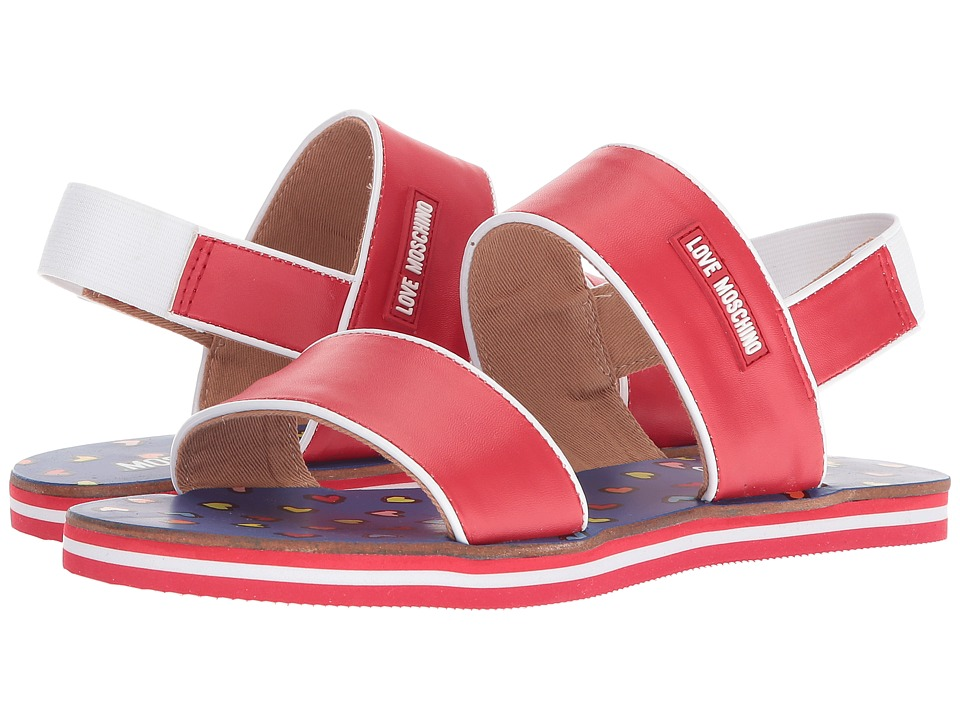 LOVE Moschino - Sandal (Red) Womens Sandals