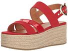 LOVE Moschino LOVE Moschino Suede Platform Sandal