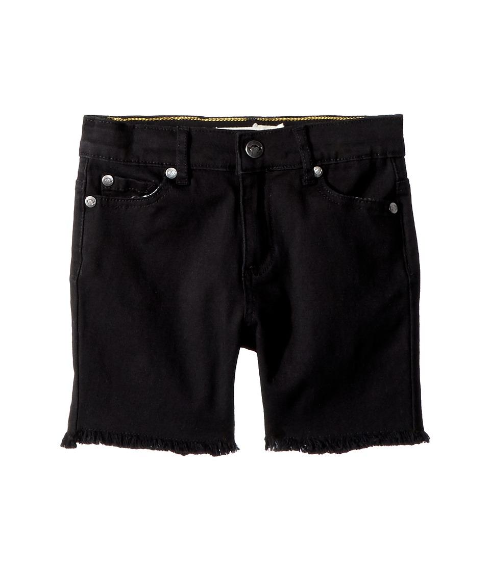 Appaman Kids - Cut Off Jean Punk Shorts (Toddler/Little Kids/Big Kids) (Black) Boys Shorts