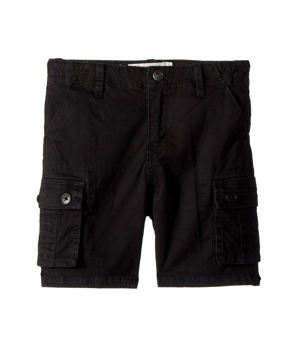Appaman Kids - Cargo Pocket Mesa Shorts (Toddler/Little Kids/Big Kids) (Black) Boys Shorts