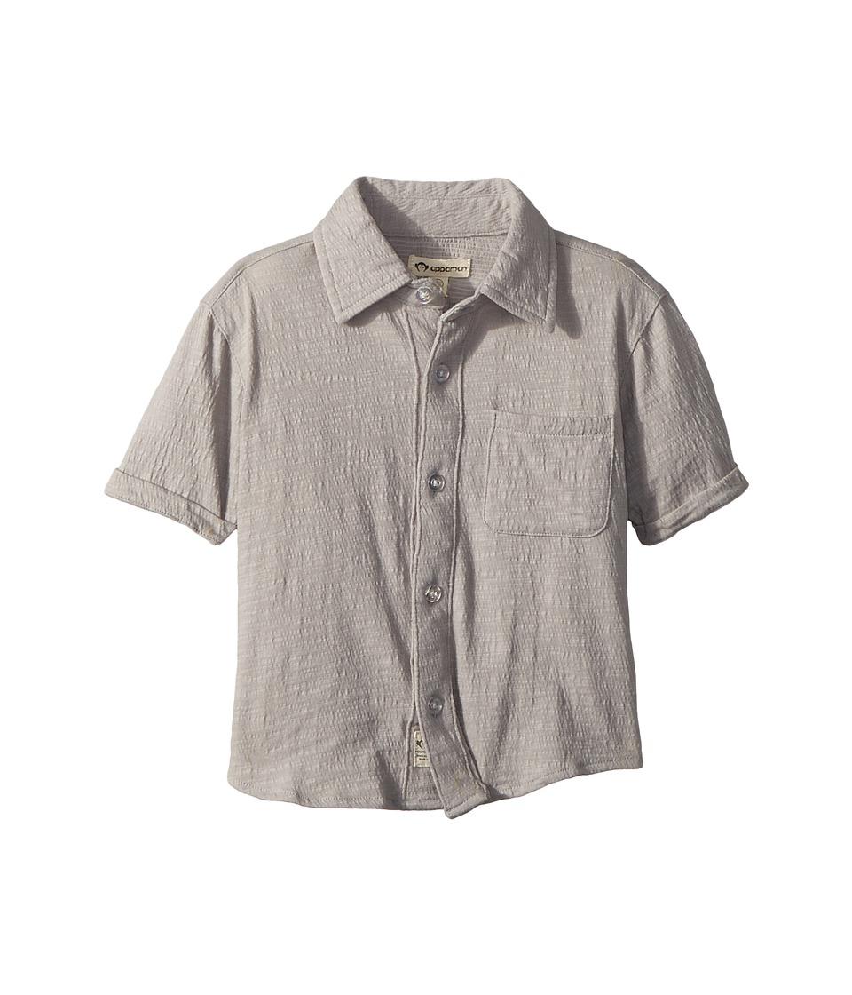 Appaman Kids - Beach Shirt (Toddler/Little Kids/Big Kids) (Light Grey) Boys Clothing