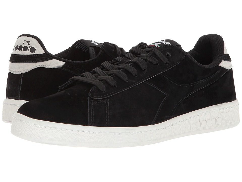 Diadora Game Low S (Black) Athletic Shoes