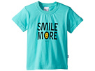 SUPERISM Smile More Short Sleeve Tee (Toddler/Little Kids/Big Kids)