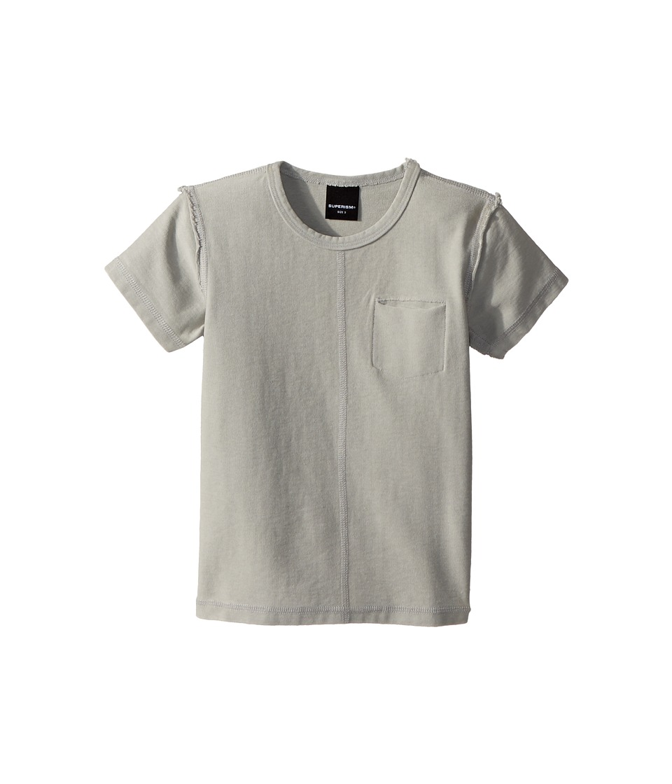 SUPERISM - Emery Short Sleeve Tee (Toddler/Little Kids/Big Kids) (Grey) Boys T Shirt